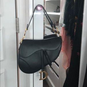 Dior Saddle Bag Black